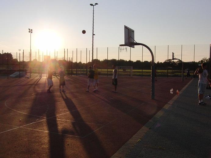 Esprit Arena Streetballcourts